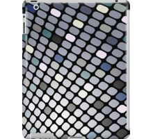 Silver Touch; Abstract Digital Vector Art iPad Case/Skin