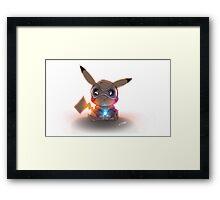 picachu pokemon Framed Print