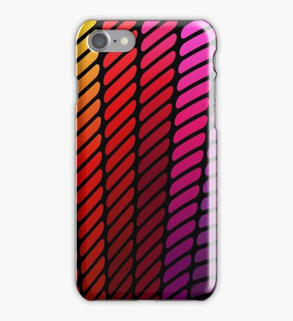 Temperature Rising; Abstract Digital Vector Art iPhone Case/Skin