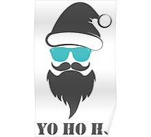 Santa Claus Christmas Gift Casual Cool Design Poster