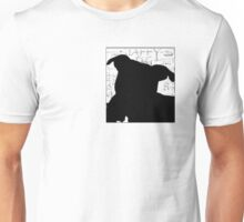 Staffy Dog Head Unisex T-Shirt