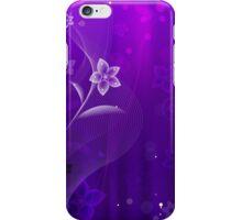 Purple Derple; Abstract Digital Vector Art iPhone Case/Skin