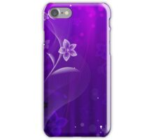 Purple Derple; Abstract Digital Vector Art iPhone Case/Skin