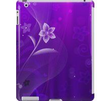 Purple Derple; Abstract Digital Vector Art iPad Case/Skin