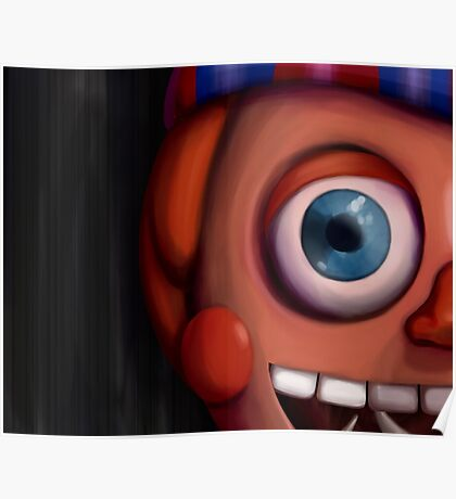 Balloon Boy Five Nights at Freddy's 2 Poster