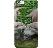 Otters Kissing iPhone Case/Skin