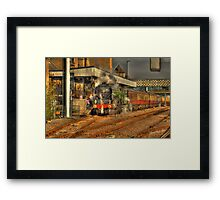 Tornado at Lincoln Framed Print