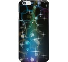 Stars Over Miami; Abstract Digital Vector Art iPhone Case/Skin
