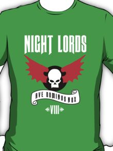Night Lords VIII - Warhammer  T-Shirt