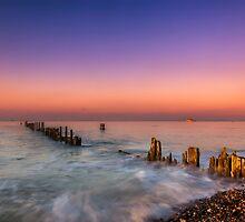 Bembridge Harbour Wave Break by manateevoyager