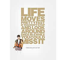 Ferris Bueller's Day Off - Ferris Photographic Print