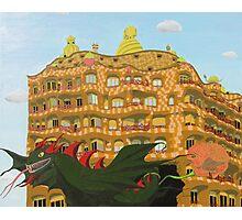 Barcelona. Gaudí. Sant Jordi. Photographic Print