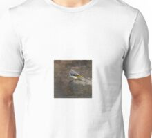 Grey Wagtail 'Oil Painting' Unisex T-Shirt