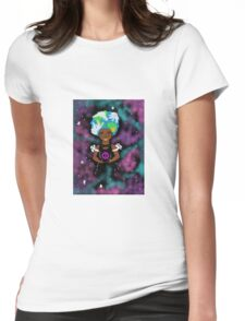 Cosmic Peace  Womens Fitted T-Shirt
