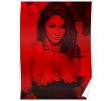 Lucy Pinder - Celebrity (Top Less) Hidden Art Poster
