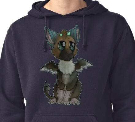The Trapped Guardian  Pullover Hoodie
