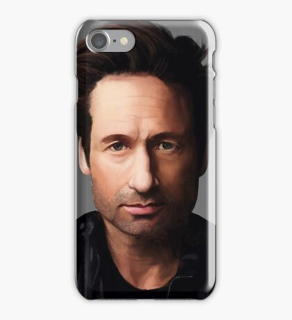 Portrait of David Duchovny iPhone Case/Skin
