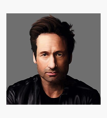 Portrait of David Duchovny Photographic Print