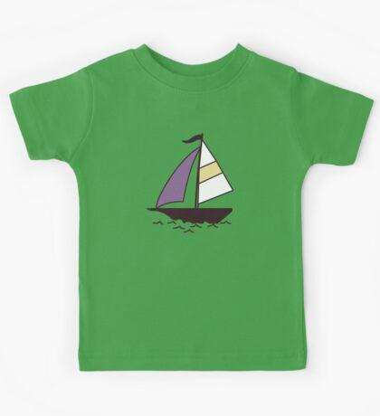 Color boats Kids Tee
