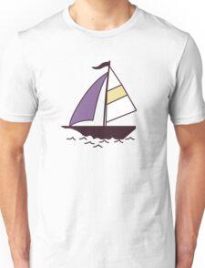Color boats Unisex T-Shirt