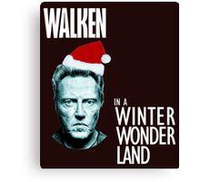 Walken Wanderland for Christmas!  Canvas Print