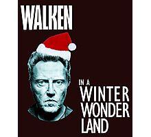 Walken Wanderland for Christmas!  Photographic Print