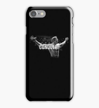 Arnold Schwarzenegger Mr Olympia Conquer  iPhone Case/Skin
