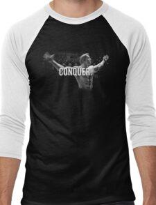 Arnold Schwarzenegger Mr Olympia Conquer  Men's Baseball ¾ T-Shirt