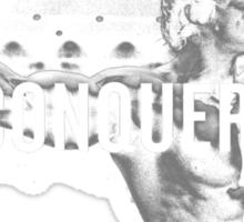 Arnold Schwarzenegger Mr Olympia Conquer  Sticker