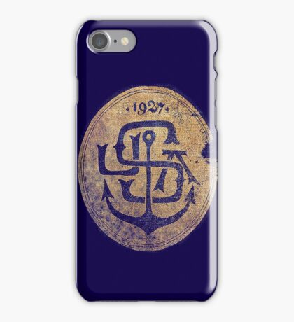 1927 Navy Emblem iPhone Case/Skin