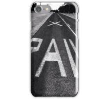 Rail road iPhone Case/Skin