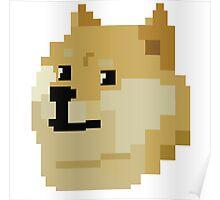 Pixel Doge Poster
