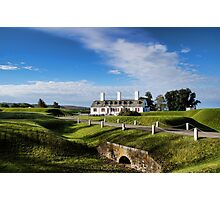 Fort Anne, Annapolis Royal, NS Photographic Print