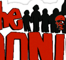 The Goonies logo and characters Sticker