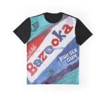 Bazooka Bubble Gum Graphic T-Shirt