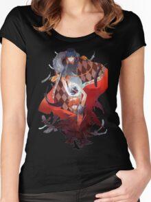 Anime: Haikyuu!! Women's Fitted Scoop T-Shirt