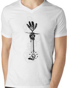 Critical Spirit Mens V-Neck T-Shirt