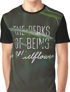 The Perks of Being a Wallflower  Graphic T-Shirt