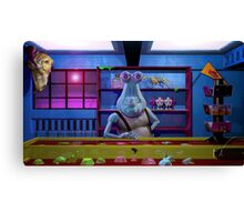 Fester's World O' Wonders Canvas Print