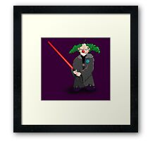 darth clown Framed Print