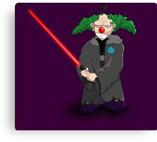 darth clown Canvas Print