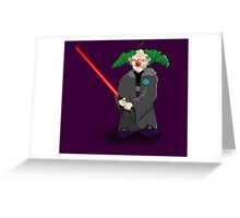 darth clown Greeting Card