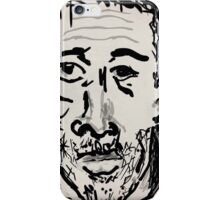 Self-portrait/(1 of 3) -(031014)- Digital artwork: Zen Brush iPhone Case/Skin