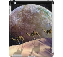 Camels on Mars iPad Case/Skin