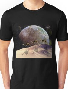 Camels on Mars Unisex T-Shirt