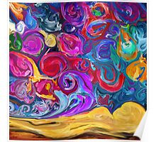 Abstract Swirls - Art, Apparel, and Home Decor Poster