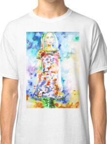 WATERCOLOR WOMAN.18 Classic T-Shirt