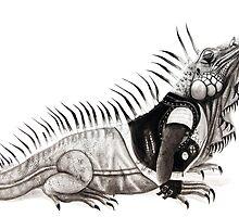 God Save the Iguana by JustineSketchet