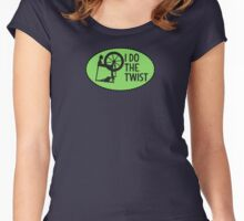 I Do the Twist. Women's Fitted Scoop T-Shirt