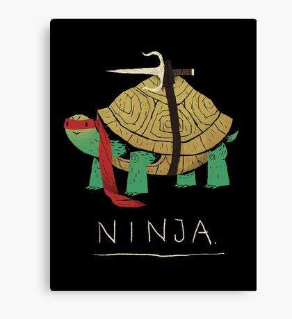ninja - red Canvas Print